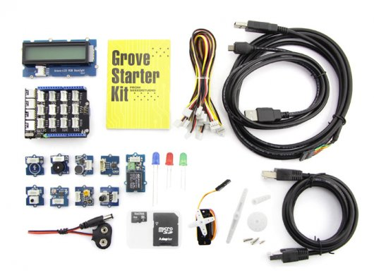 Grove starter kit plus – Intel IoT Edition for