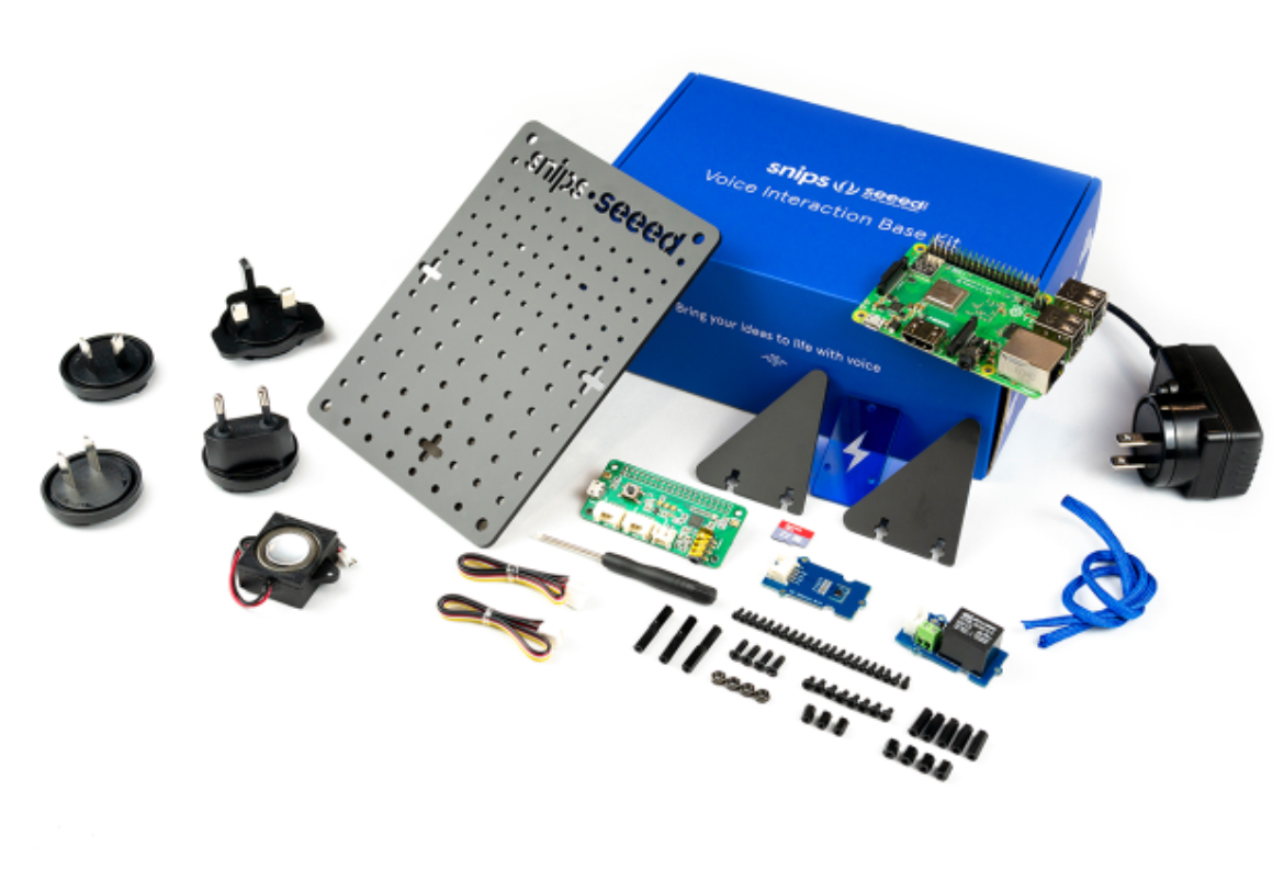 Snips Voice Interaction Base Kit for Raspberry Pi (incl. RPi 3B+)