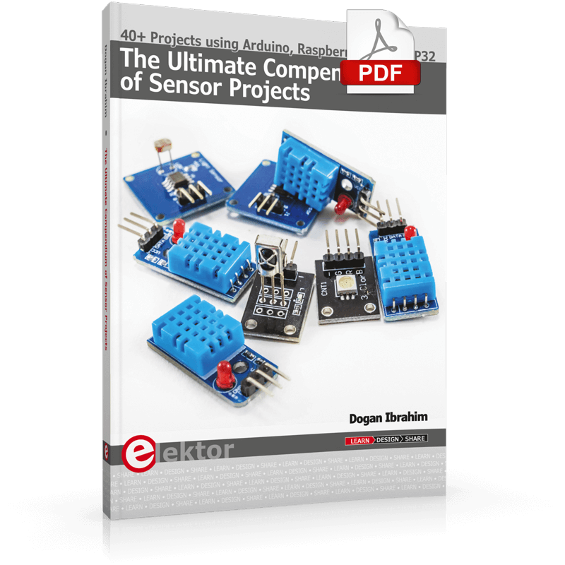 The Ultimate Compendium of Sensor Projects (E-book)