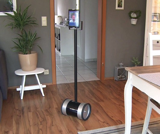"Twinbot Complete Telepresence robot including 8"" Tablet"