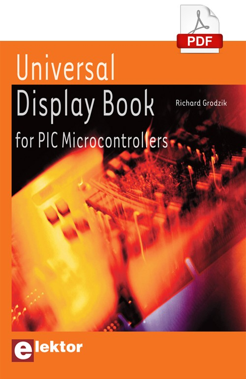 E-book: Universal Display Book for PIC Microcontrollers