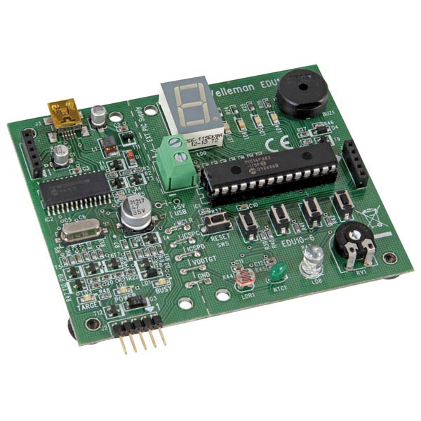 USB PIC Programmer and Tutor Board