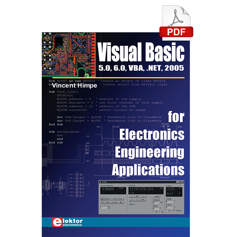 Visual Basic for Electronics Engineering Applications (E-book)