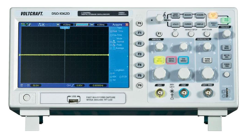 VOLTCRAFT Digital Oscilloscope DSO-1062D